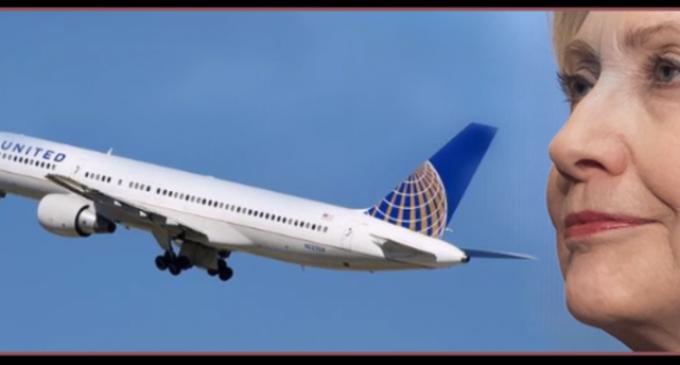 Woman Thrown Off Plane When She Said Hillary is a B!&$#