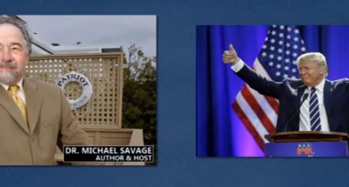 """Trump to Savage: Maybe Obama """"doesn't want to get rid of the problem"""" of ISIS"""