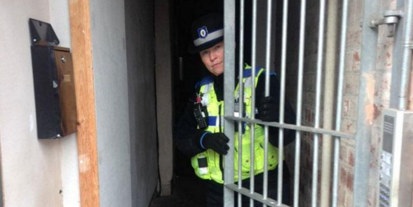 Backlash After UK Police Tweet Pics of Themselves in Unlocked Homes