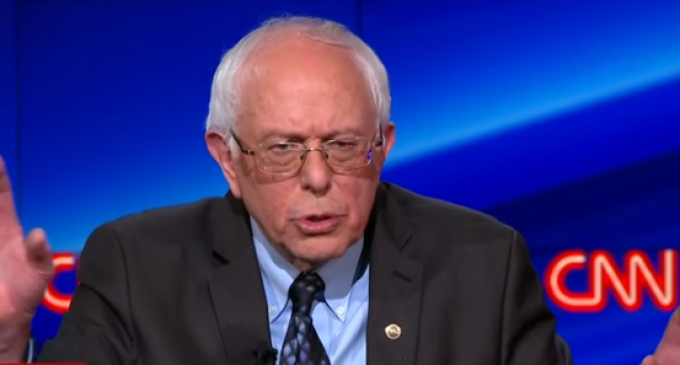 Sanders: If You're White You Don't Know What It's Like To Be Poor
