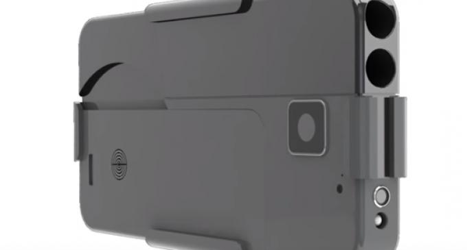 Minnesota Man Creates Folding Gun That Looks Like a Cell Phone