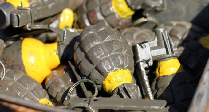 Massive Shipment of Grenades, Automatic Weapons Bound for Sweden Intercepted