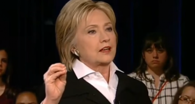 Hillary Clinton Back Pedals On Late Term Abortions