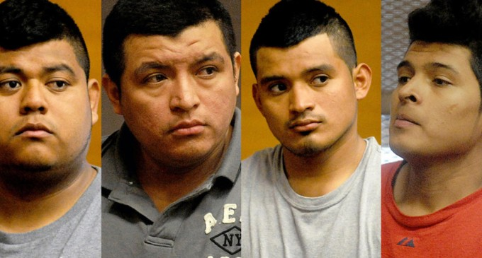 Four Illegals Arrested For Vicious Gang Rape, Beating of Boyfriend