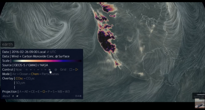 Report: NASA Covering Up Major Carbon Monoxide Explosion on West Coast