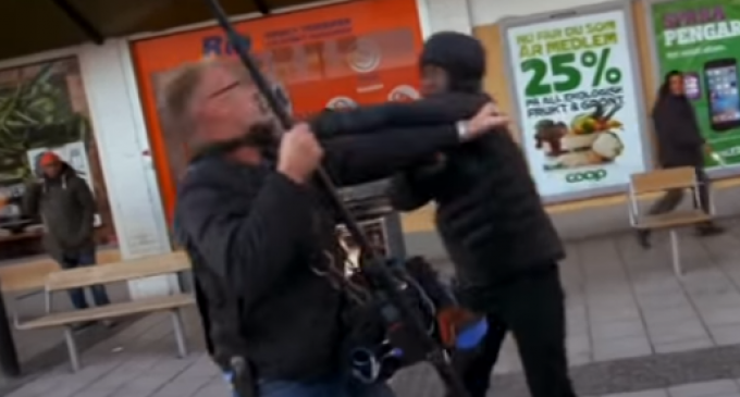 Migrants Assault, Insult, and Run Over 60 Minutes Crew in Sweden
