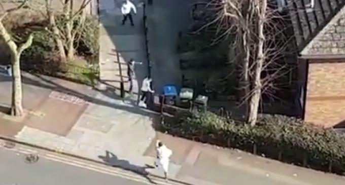 Muslim Shooting Rampage on England's Streets