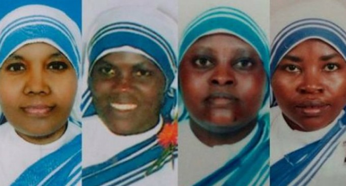 Four Nuns Massacred by ISIS Militants in Yemen