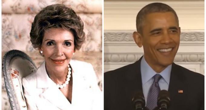 Obama to Skip Nancy Reagan's Funeral for Texas Festival