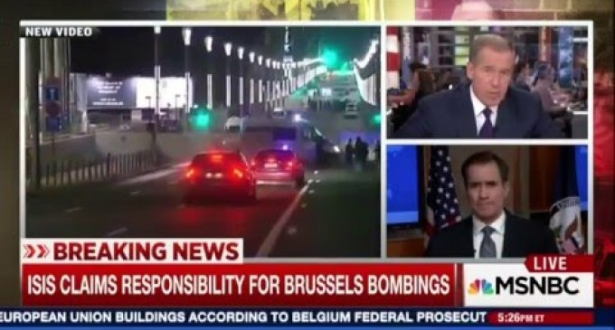 Obama State Department Refuses to Acknowledge One Vital Fact About Brussels Terror Attack