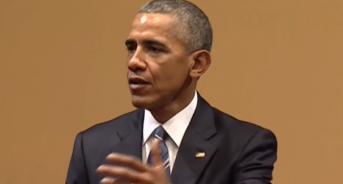 Upset about the Economy while White? Obama Blames 'Right-Wing' Media for Making 'White People' Mad