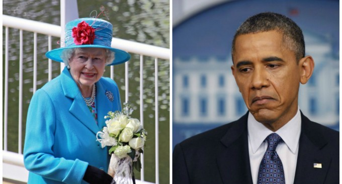 Queen Refuses to Return Home to Meet with Obama