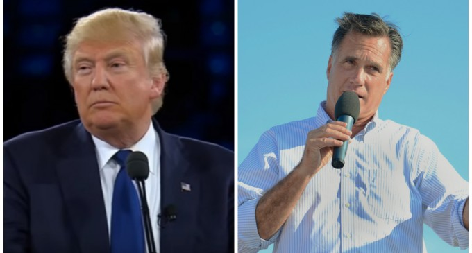 """Mitt Romney Mocks Trump's Foreign-Born Wives: They Did """"Jobs Americans Won't Do"""""""