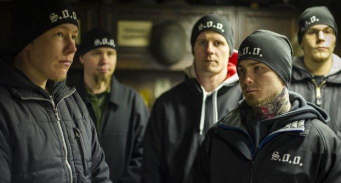Finnish Vigilante Group Saves Girls From Muslim Attack
