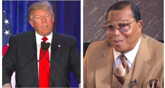 "Louis Farrakhan Praises Donald Trump For Refusing ""Jewish"" Money"