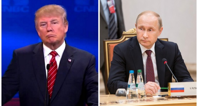 Trump Abates NATO: 'I want to get along with Russia'