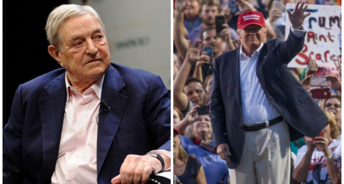 Soros Alarmed by Trumpmania, Pours Millions into 2016 Race