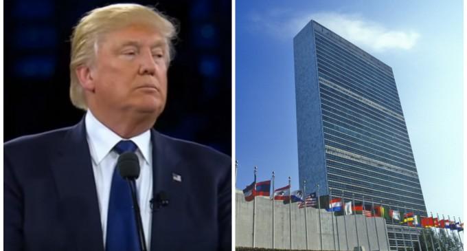 Donald Trump Blasts the United Nations at AIPAC