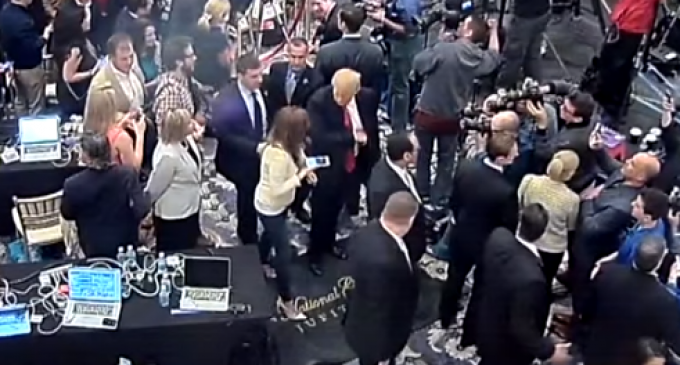 Trump Campaign Manager Charged with Misdemeanor Battery in Florida