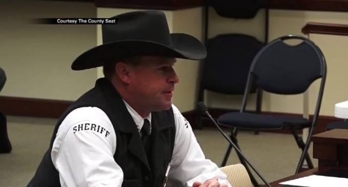 "Utah Sheriff Warns BLM: ""I Will Deputize Everyone And Arrest all Federal Agents"""