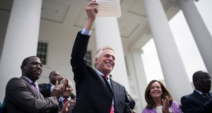Terry McAuliffe to Sign Executive Order Banning Concealed Carry