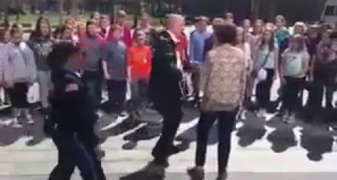 Students Told to Stopped Singing the National Anthem