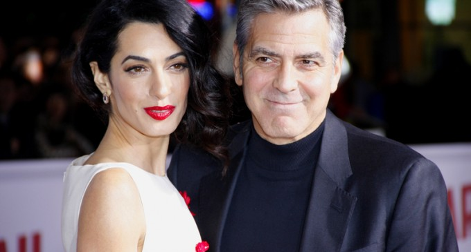 Clooney's Italian Mansion has New Neighbors: A Migrant Camp