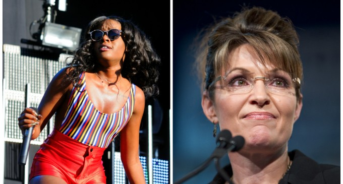 Rapper Azealia Banks Apologizes For, Then Defends Saying Sarah Palin Should Be Gang Raped