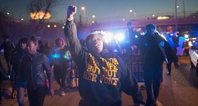 Black Lives Matter Demands the Disarming, Defunding, Demilitarizing, and Disbanding of the Police
