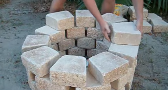 How To Build A Fire Pit For Under $100