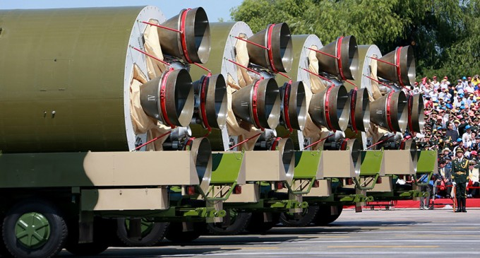 China Tests Long-Range Missiles Capable of Carrying 10 Nukes, Can Strike US within Half an Hour