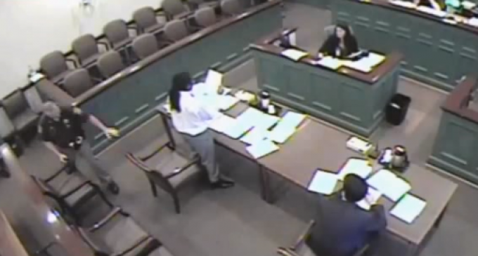 Maryland Judge Sentenced after Ordering Defendant be Tasered with 50,000 Volts for Reading Slowly