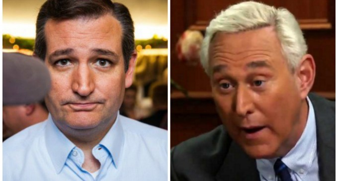 Stone: Ted Cruz should be put in Handcuffs for Voter Fraud