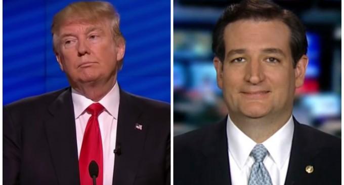 "Ted Cruz Slams Trump For Transgender Restroom Comments, Being ""PC Police"""