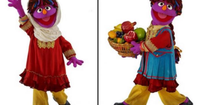 Meet Sesame Street's Newest Muppet: A Hijab-Wearing Afghani Feminist
