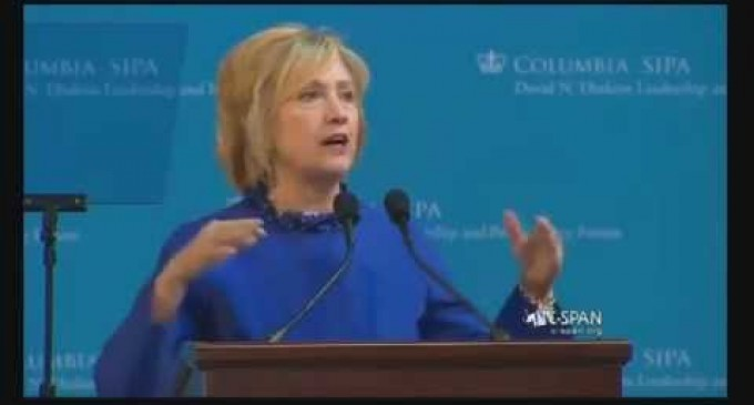 Hillary: That Police Intentionally Kill Black Men is 'Unmistakable and Undeniable'