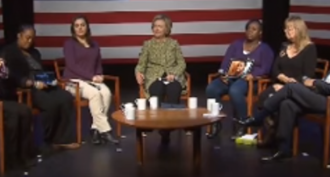 Hillary Agrees: Gun Manufacturers turn Americans into Terrorists
