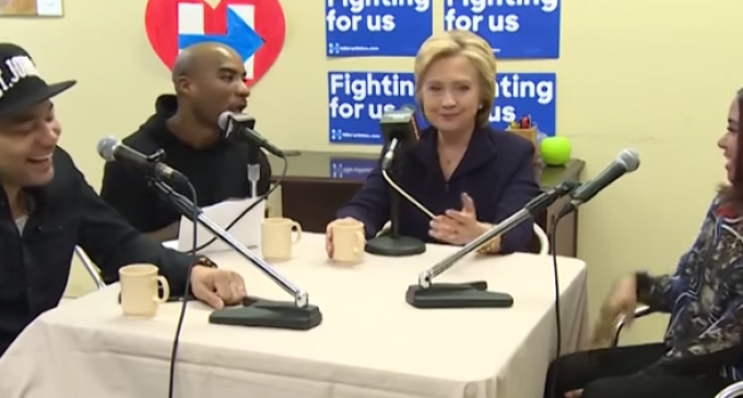 Hillary on Black Radio Show: I Always Keep Hot Sauce in my Purse