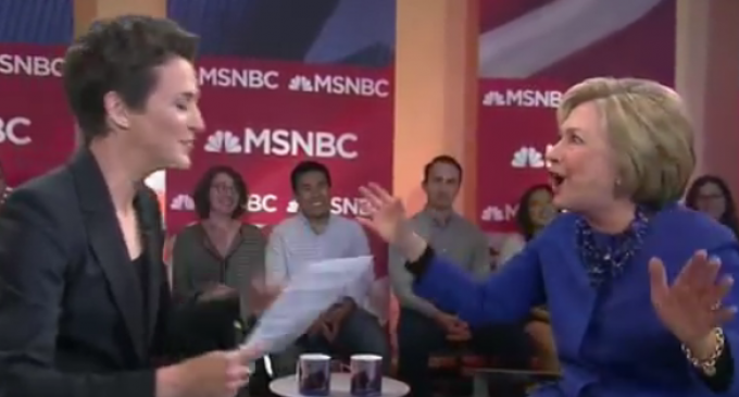 Hillary Melts Down when Confronted about Sanders
