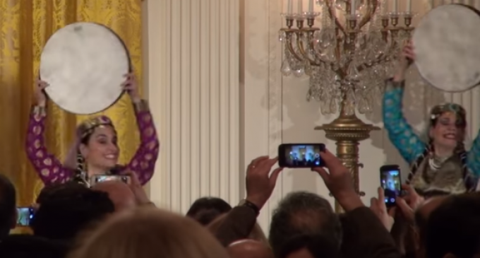 Michelle Obama Throws Iranian Party at the White House