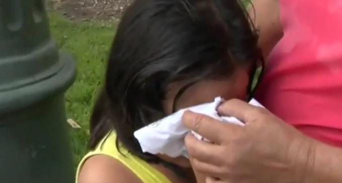 Anti-Trump Protestor Pepper Sprays Two Young, Hispanic Girls