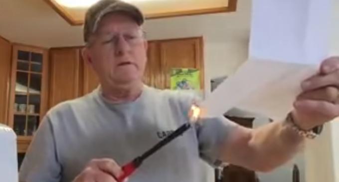 Colorado Delegate Burns GOP Registration After Being Suspended For Supporting Trump