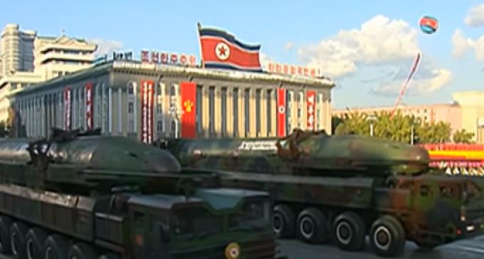 Spy Satellite Shows North Korea Preparing Mobile Ballistic Missile Launch, Capable of Reaching US