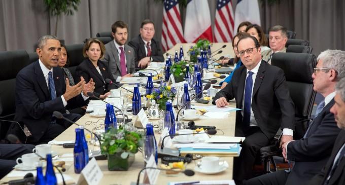 "Obama Admin Censors French President's References to ""Islamist Terrorism"""
