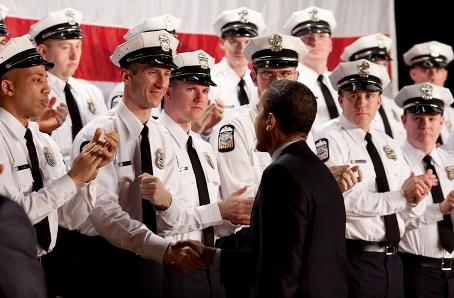 obama local police