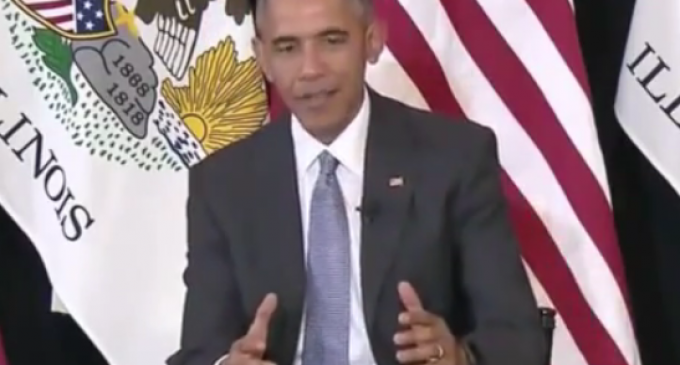 Obama: White Men have History of Keeping Women, Minorities from Voting