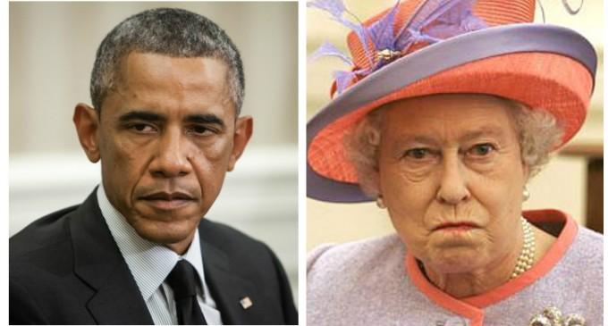 Obama's Dramatic Entrance Earns Royal Rebuke