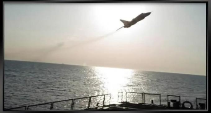Russian Jet Conducts Risky Barrel-roll over U.S. Reconnaissance Plane