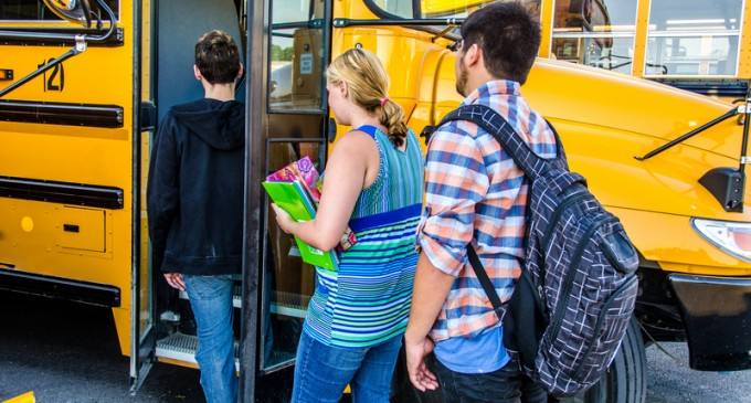 CIA 'Inadvertently Left' Explosive Material On School Bus