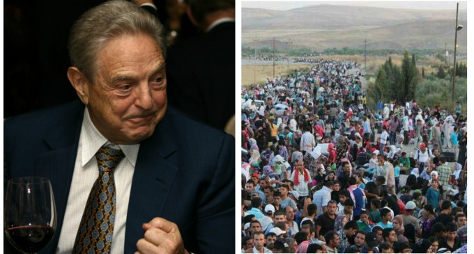 George Soros Releases Plan to Increase Migrant Population Across Europe
